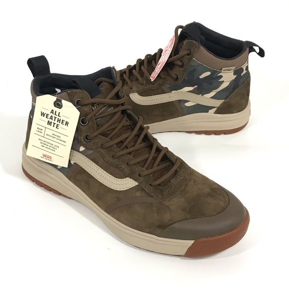 Vans Other - NWT Vans UltraRange Mte Hi Dl All Weather Shoes